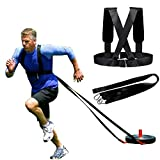 Sled Harness Tire Pulling Harness Fitness Resistance Speed Agility Training Workout, Weight Sled Harness Kits...