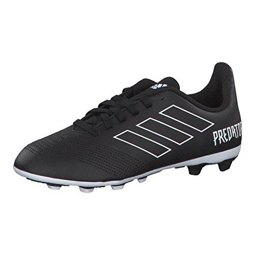 adidas Unisex-Erwachsene Predator 18.4 FxG Fußballschuhe, Schwarz (Negbás/Ftwbla 000), 38 2/3 EU
