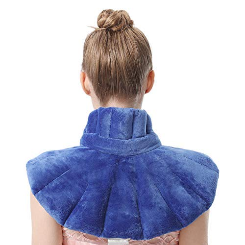 AROMA SEASON® | Kirschkernkissen | Körnerkissen | Wärmekissen | Nacken, Schulter und Rücken | Für Mikrowelle | XXL, weich und bequem