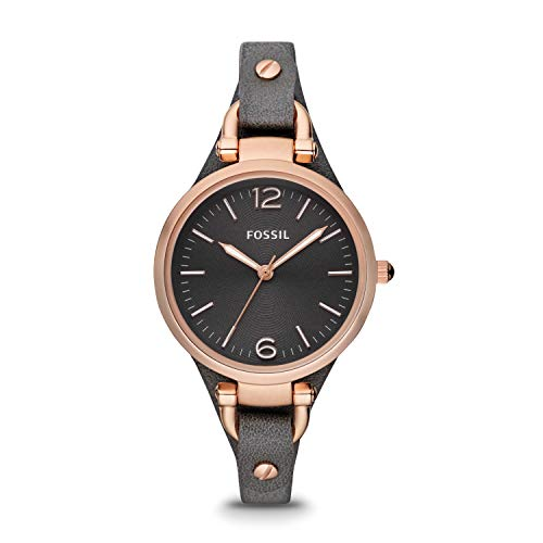 Top 10 Cheap Women's Watches That Look Expensive - Fossil Women's Georgia Casual Watch