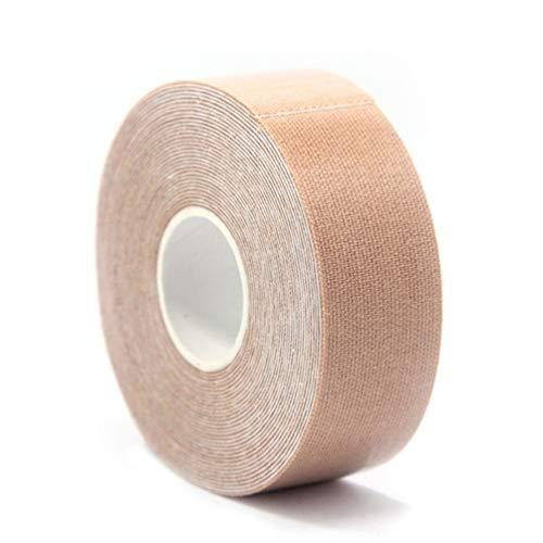 Wenwenzui-DE 2,5 cm * 5 Mt Elastische Bandage Klebebänder für Sport Muskelverletzung Hautfarbe