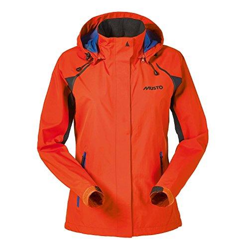Musto Evolution Sardinia Segeljacke Gore-TEX Jacket Fire Orange für Frauen Größe 10 Brustumfang ca.86cm Taille ca 69cm