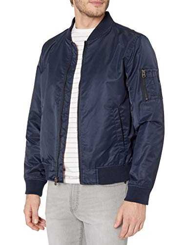 Levi's Men's Flight Bomber Jacket, Navy, Small