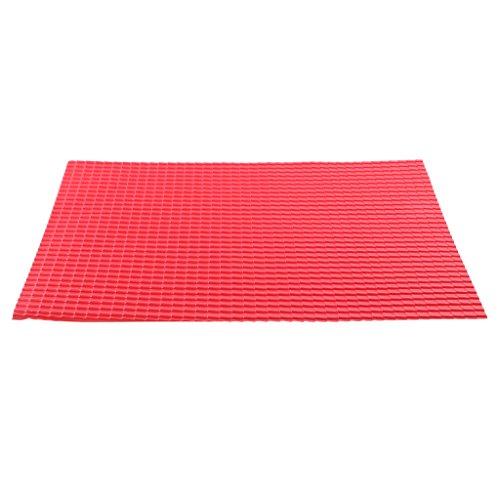 KESOTO Kunststoff Basteln Platten Dachziegel Kunststoffplatte Bastelplatte Zubehör - 1/25