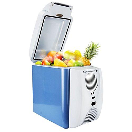 JCOCO 7L frigorifero auto riscaldamento e raffreddamento box auto dual-incubatore portatile piccolo frigorifero
