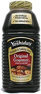 Mr. Yoshida's Original Gourmet Sauce 1 Pack (86 Ounce)
