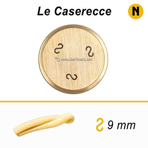 Trafila in bronzo per Pasta Le Caserecce per macchina pasta fresca professionale La Fattorina 1,5kg compatibile con FIMAR MPF 1,5