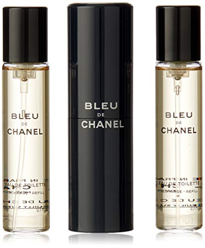 Chanel Bleu De Chanel Eau de Toilette Vaporizador Refillable 3X 20 ml