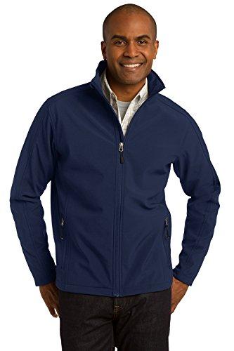 Port Authority® Tall Core Soft Shell Jacket. TLJ317 Dress Blue Navy 3XLT