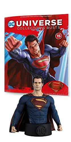 Busto de Resina Batman Universe Collector's Nº 15 Superman (Henry Cavill)