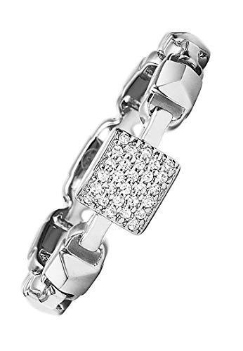 Michael Kors Damen-Damenring 925er Silber 57 Silber 32000192