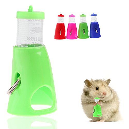 Kathson Distributeur de bouteille d'eau 2 en 1 pour hamster 80 ml