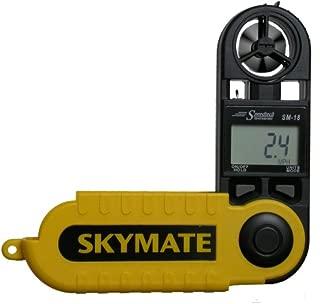 WeatherHawk SM-18 SkyMate Hand-Held Wind Meter, Yellow
