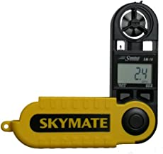 WeatherHawk SM-18 SkyMate Hand-Held Wind Meter, Yellow