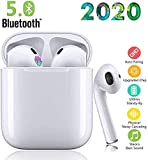 Bluetooth 5.0 Écouteurs 2020 Newest TWS i12 Casques Sans Fil 3D Stéréo Sonore Touch Control Pop-Up Auto Pairing Écouteurs Pour Sports & Travail IPX7 Étanches Blanc