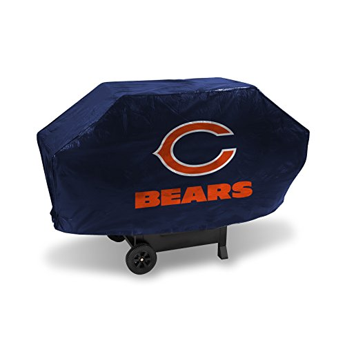 NFL Rico Industries Vinyl Padded Deluxe Grill Cover, Chicago Bears
