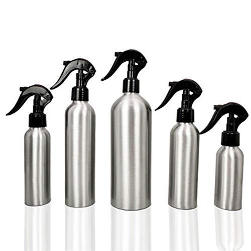 JSJJAOL Botella de envase cosmético 30 Ml-500ml Botella de Aluminio Vacío Botellas de Rociador Nasal Botella Pulverizador Mist Mist Nariz Spray Botellas Retellables Viaje Contenedor Cosmético