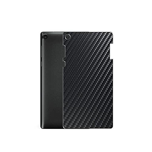 VacFun 2 Piezas Protector de pantalla Posterior, compatible con Lenovo TAB3 7.0 730M 7' TAB 3, Película de Trasera de Fibra de carbono negra Skin Piel