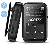 Clip MP3 Player with Bluetooth, AGPTEK 16GB...