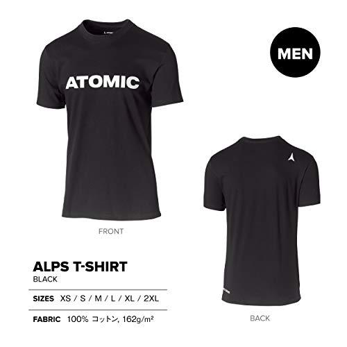 Shirt Model100CottonSize XlBlackAp5100810 With Men's Atomic T LogoAlps m0vNnw8