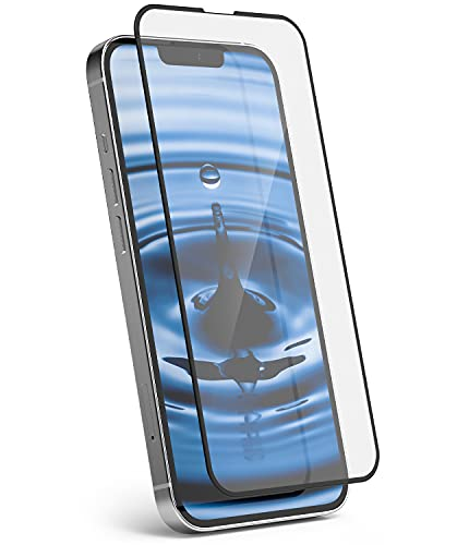 Ringke Full Cover Glass Compatible con Protector Pantalla iPhone 13 y Compatible...