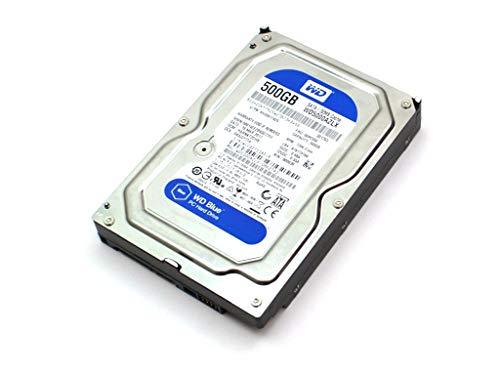 Western Digital WD5000AZLX - Unidad de disco duro (500 GB, 3,5', 7200 RPM, 32 MB, SATA3, 6 Gb/s, disco duro HDD WD5000AZLX-08K2TA0)