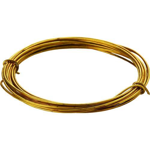 TRUSCO(トラスコ) 真鍮線 線径0.90mmx約5m TBW-20