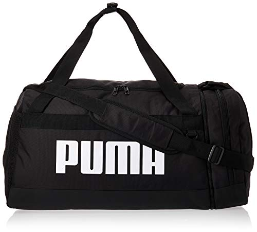 PUMA Challenger Duffel M Pro Bolsa Deporte, Unisex-Adult, Negro, OSFA