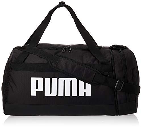 PUMA Unisex– Erwachsene Challenger Duffel M Pro Sporttasche, Black, OSFA