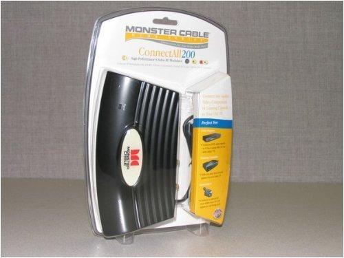 MONSTER CABLE 120031 S-Video RF Modulator