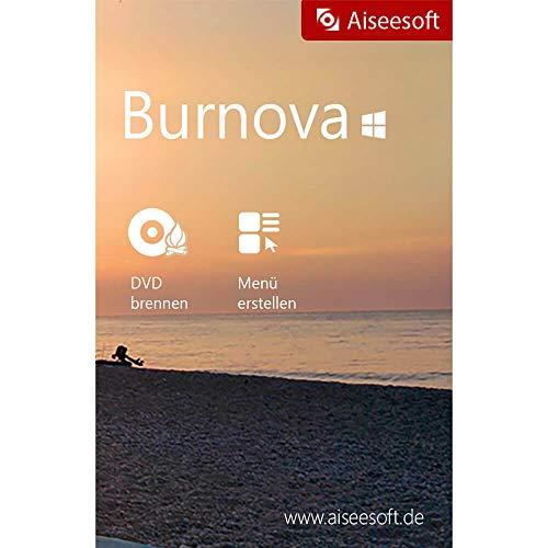 Burnova ( DVD & Blu-Ray Converter) 1 Jahr Lizenz (Product Keycard ohne Datenträger)