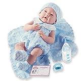 JC Toys - La Newborn - 18054 - Poupée et Mini-Poupée - Bleu