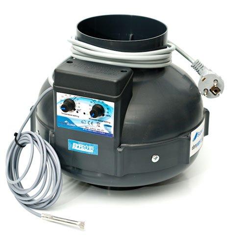 Extracteur d'air RVK Prima Klima 400 m³/h 125mm + Contrôle Température (PK125)