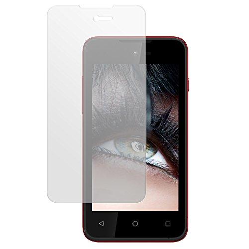 mtb more energy® Schutzglas für Wiko Sunset 2 (M752, 4.0'') - Tempered Glass Protector Schutzfolie Glasfolie
