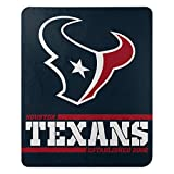 Northwest NFL Houston Texans 50x60 Fleece Split Wide DesignBlanket, Team Colors, One Size (1NFL031040119RET)