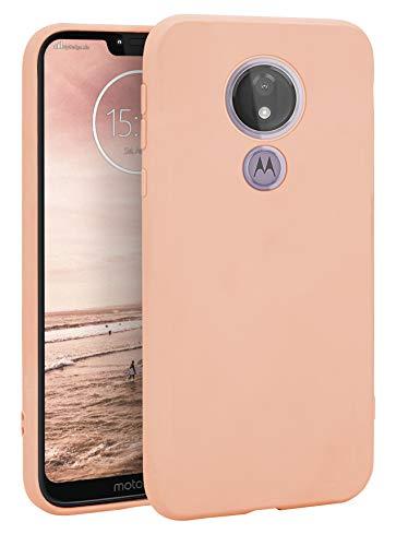 MyGadget Funda Slim para Motorola Moto G7 Power en Silicona TPU - Resistente Carcasa Cubierta - Antichoque Flexible & Protectora - Friendly Pocket Case Pink