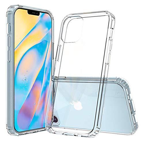 Adecuado para IPhone12proMax teléfono móvil caso nuevo Apple 11max anti-caída acrílico Se2 transparente cubierta protectora