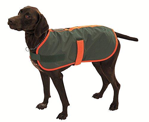 FARM-LAND Hunde Thermodecke Thermomantel mit signalorangem Einfaß (L/gr. Vorstehunde)