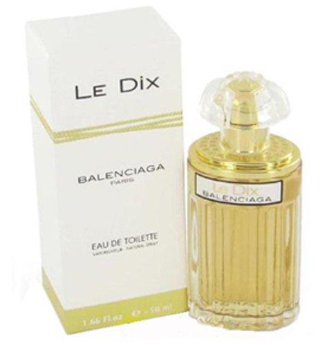 LE DIX Perfume. EAU DE TOILETTE SPRAY 1.66 oz / 50 ml By Balenciaga - Womens