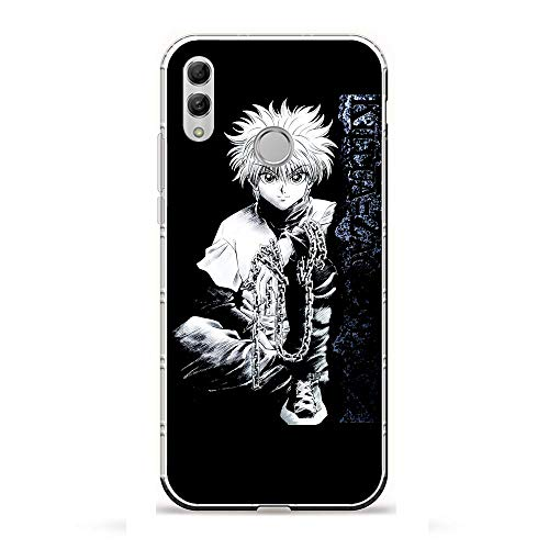 LLGO Slim Matte Clear Coque TPU Thin Transparency Crystal Case Cover For Huawei P Smart 2019/Honor 10 Lite-Anime Hunter x Hunters 3