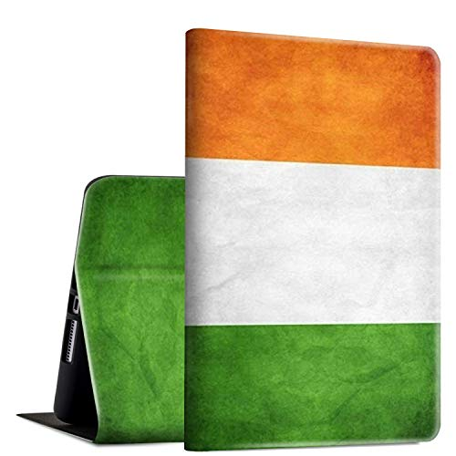 iPad 9.7 2018/2017 Case,iPad Air 2/iPad Air Case, Rossy PU Leather Folio Smart Cover Shock Case with Adjustable Stand & Auto Wake/Sleep Feature for Apple iPad 6th/5th Gen,Irish Flag
