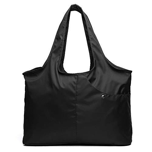 Bolsas Totes para Mujer Grande Bolsa de Viaje Bolso de Nylon Moda Impermeable Tote Bolsa Multifunción Women Shoulder Bags Fashion Large Capacity Handbag Waterproof Multi-function...