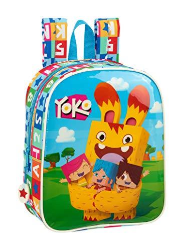 Yoko - Zaino ufficiale per bambini, 220 x 100 x 270 mm