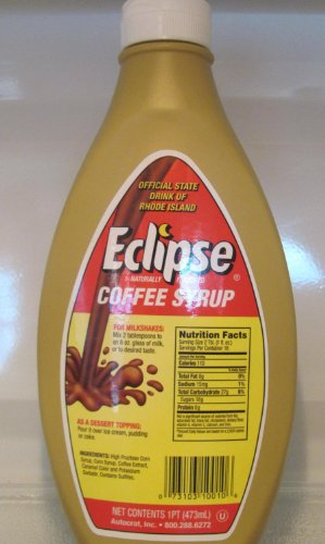 ECLIPSE COFFEE SYRUP 1 PINT BOTTLES (3 PACK)