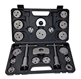 NRG CLEVER SFB22B Kit de Herramientas Reposicionador de Pistones de Freno, Juego de Reparación de Frenos Universal, Ideal para Cambiar Las Pastillas, los Discos o Las Zapatas, 22 Unidades