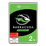 Seagate BarraCuda 2 TB interne Festplatte HDD – 2,5 Zoll SATA 6 Gb/s 5400 U/min 128 MB Cache für Computer-Desktop-PC – exklusiv bei Amazon – Frustrationsfreie Verpackung (ST2000LMZ15)
