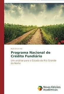 Programa Nacional de Crédito Fundiário: Um análise para o Estado do Rio Grande do Norte (Portuguese Edition)
