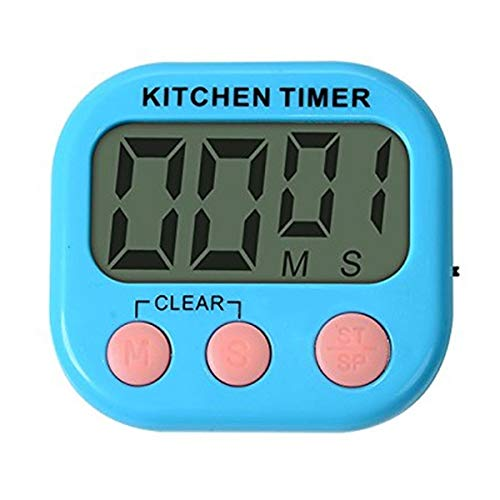 SASY Digital Kitchen Timer, Laboratory Timer with Magnetic OR Table Stand.