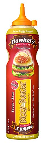 950ml Nawhals Biggy Burger Sauce, Original Marke Nawhal's