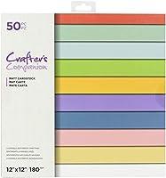 Crafter's Companion CC-PAD12-LAYSC 重ね着可能 センチメント クリスマス 12インチ x 12インチ ペーパーパッド マルチ